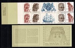 Sverige 1969  Yv  C625** Boekje/carnet 625** Complete Booklet - 1951-80