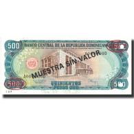 Billet, Dominican Republic, 500 Pesos Oro, 1994, 1994, Specimen, KM:137s2, NEUF - Dominicana