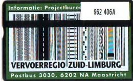 Telefoonkaart  LANDIS&GYR NEDERLAND *  RCZ.962  406a * VERVOERSREGIO ZUID-LIMBURG  * TK * ONGEBRUIKT * MINT - Nederland