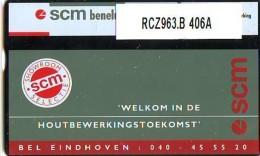 Telefoonkaart  LANDIS&GYR NEDERLAND *  RCZ.963b  406a * SCM EINDHOVEN  * TK * ONGEBRUIKT * MINT - Nederland