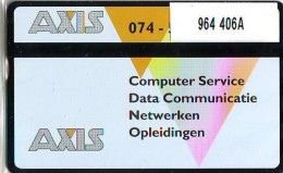 Telefoonkaart  LANDIS&GYR NEDERLAND *  RCZ.964  406a *Axis  * TK * ONGEBRUIKT * MINT - Nederland