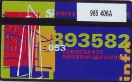 Telefoonkaart  LANDIS&GYR NEDERLAND *  RCZ.965  406a * UNIVERSITEIT TWENTE  * TK * ONGEBRUIKT * MINT - Nederland
