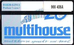 Telefoonkaart  LANDIS&GYR NEDERLAND *  RCZ.966  406a * MULTIHOUSE  * TK * ONGEBRUIKT * MINT - Nederland