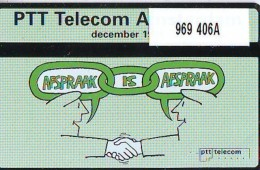 Telefoonkaart  LANDIS&GYR NEDERLAND *  RCZ.969  406a * PTT Telecom Amsterdam  * TK * ONGEBRUIKT * MINT - Nederland