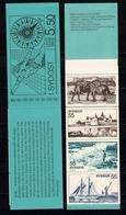 Sverige 1972  Yv  C732** Boekje/carnet 732** Complete Booklet - Carnets
