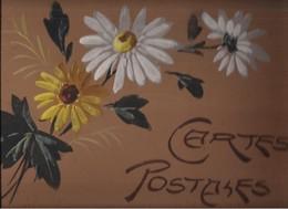 ALBUM ANCIEN CARTES POSTALES  - FLEURS - - Matériel