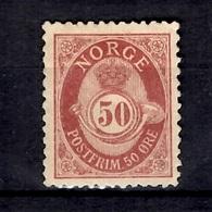 Norvège YT N° 56B Neuf *. B/TB. A Saisir! - Norwegen