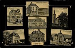 Cp Grenchen Kt. Solothurn, Malerei Ferd. Kaus, Turnhalle, Magazin Ris, Kantonalbank - SO Solothurn