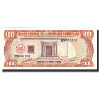 Billet, Dominican Republic, 100 Pesos Oro, 1991, 1991, KM:136a, NEUF - Dominicana