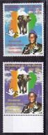 Còte D'Ivoire- 04.08.2000-Le 40ème Anniversaire De L'indèpendance Nationale, Transition Ivorienne- Full Set MintNH - Côte D'Ivoire (1960-...)