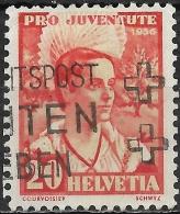 SWITZERLAND 1936 Children's Fund -  20c. Schwyz AVU - Pro Juventute