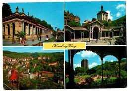 POSTAL POST CARD CARTE POSTALE REPÚBLICA CHECA CHEQUIA Czech Republic KARLOVY VARY CIUDAD BALNEARIO DDR STAMPS. BOHEMIA - República Checa