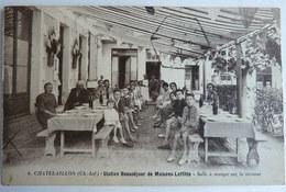 CPA 17 CHATELAILLON STATION BEAUSEJOUR DE MAISON LAFFITTE SALLE A MANGER SUR LA TERRASSE - Châtelaillon-Plage