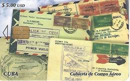 ETECSA - International Callings Phonecard - $5.00 USD - Correo Aéreo - Cuba