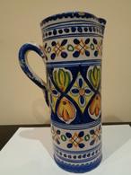 Antigua Jarra, Florero O Albarelo De Puente Del Arzobispo (Toledo), España. - Ceramics & Pottery