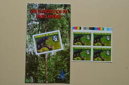 Bolivie  Bloc 4 Mnh Ours LIDEMA Protection Nature + Carnet Info Bolivia - Bears