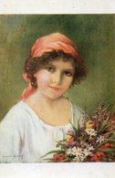 CPA LE PRINTEMPS - F. MARTIN KAVEL - Peintures & Tableaux