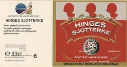 Brouwerij Boelens  Hinges Sjotterke - Beer