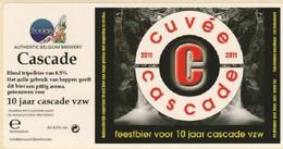 Brouwerij Boelens  Cuvee Cascade - Beer