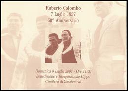 MOTOCICLISMO - Roberto Colombo (Casatenovo, 5 Gennaio 1927 – Stavelot, 6 Luglio 1957) - Ricordo - Sport