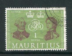 MAURICE- Y&T N°259- Oblitéré - Maurice (...-1967)