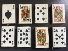 8 Piccole SCATOLE FIAMMIFERI - ANNI '60 - SEGNI Di CARTE - Scatole Di Fiammiferi