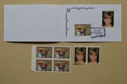 Bolivie Mnh Bloc 4 + Paire + Souvenir Lady Diana  Bolivia - Royalties, Royals