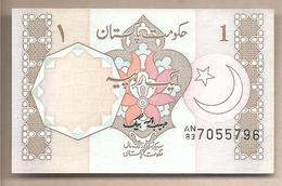 Pakistan - Banconota Non Circolata FdS Da 1 Rupia P-27b - 1983 - Pakistan