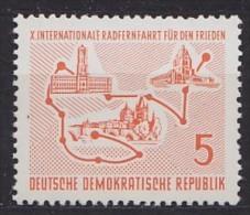 République Démocratique Allemande GERMAN DEM. REP   ** MNH Vélo Cycliste Cyclisme Bicycle Cycling Fahrrad Radfah [de42] - Cycling