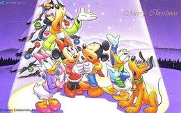 Télécarte Japon * 110-180835 * DISNEY  (6376) MERRY CHRISTMAS * PHONECARD JAPAN * - Disney