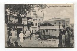 British East Africa / Kenya - Mombasa - Iua Kale Street Old Postcard - Kenya