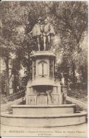 Bruxelles - Brussel - 33 - Square Du Petit-Sablon - Statue Des Comtes D'Egmont Et De Hornes - 1923 - Marktpleinen, Pleinen