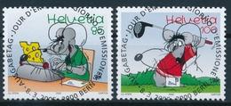 1158-1159 / 1915-1916 Serie Mit Ersttag - Vollstempel & Gummi - Switzerland