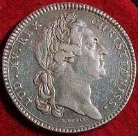 LOUIS XV Jeton ARGENT 1771 ETATS Du LANGUEDOC , COMITIA OCCIT  . CROIX DE TOULOUSE . OCCITANE . FRANCE OLD SILVER TOKEN - Royal / Of Nobility