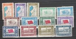 Leco - HATAY*  Yv 24/36 NEUFS AVEC CHARNIERE - - 1934-39 Sandjak Alexandrette & Hatay