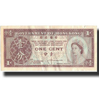 Billet, Hong Kong, 1 Cent, Undated (1961-71), KM:325a, TB - Hong Kong