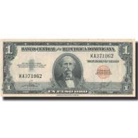 Billet, Dominican Republic, 1 Peso Oro, Undated (1962-63), KM:91a, SUP - Dominicaine
