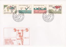 FDC Liechtenstein (br4493) - Ete 1988: Séoul
