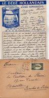 VP12.216 - Lettre De Mme La Comtesse De LEUSSE à MAZAGAN (Maroc ) Pour Mme La Comtesse De PERINI à MARSEILLE - Manuscripts