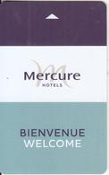 FRANCE - Mercure, Hotel Keycard, Used - Hotel Keycards