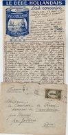 VP12.217 - Lettre De Mme La Comtesse De LEUSSE à MAZAGAN (Maroc ) Pour Mme La Comtesse De PERINI à MARSEILLE - Manuscripts