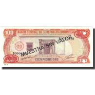 Billet, Dominican Republic, 100 Pesos Oro, 1991, 1991, Specimen, KM:136s1, NEUF - Dominicana