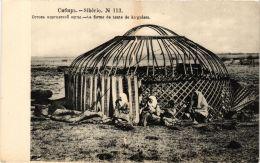 CPA SIBERIA No. 113. La Forme De Tente De Kirguises Kirghiz RUSSIA (a4160) - Russia