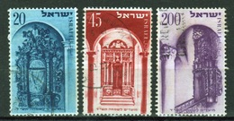 Israel Set Of Stamps From 1953 To Celebrate The Jewish New Year. - Israel