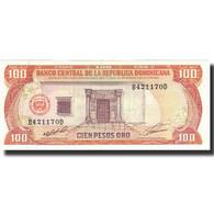 Billet, Dominican Republic, 100 Pesos Oro, 1991, 1991, KM:136a, SPL - Dominicana