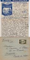 VP12.218 - Lettre De Mme La Comtesse De LEUSSE à MAZAGAN (Maroc ) Pour Mme La Comtesse De PERINI à MARSEILLE - Manuscripts