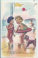 GERMAINE BOURET Illustratrice - Monsieur Le Maitre Nageur - Bouret, Germaine
