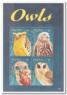 Palau 2014, Postfris MNH, Birds, Owls - Palau