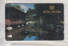 BULGARIA(GPT) - Hotel Vitosha 1, CN : 14BULA, Tirage 2000, 06/93, Mint - Bulgaria