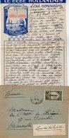 VP12.219 - Lettre De Mme La Comtesse De LEUSSE à MAZAGAN (Maroc ) Pour Mme La Comtesse De PERINI à MARSEILLE - Manuscripts